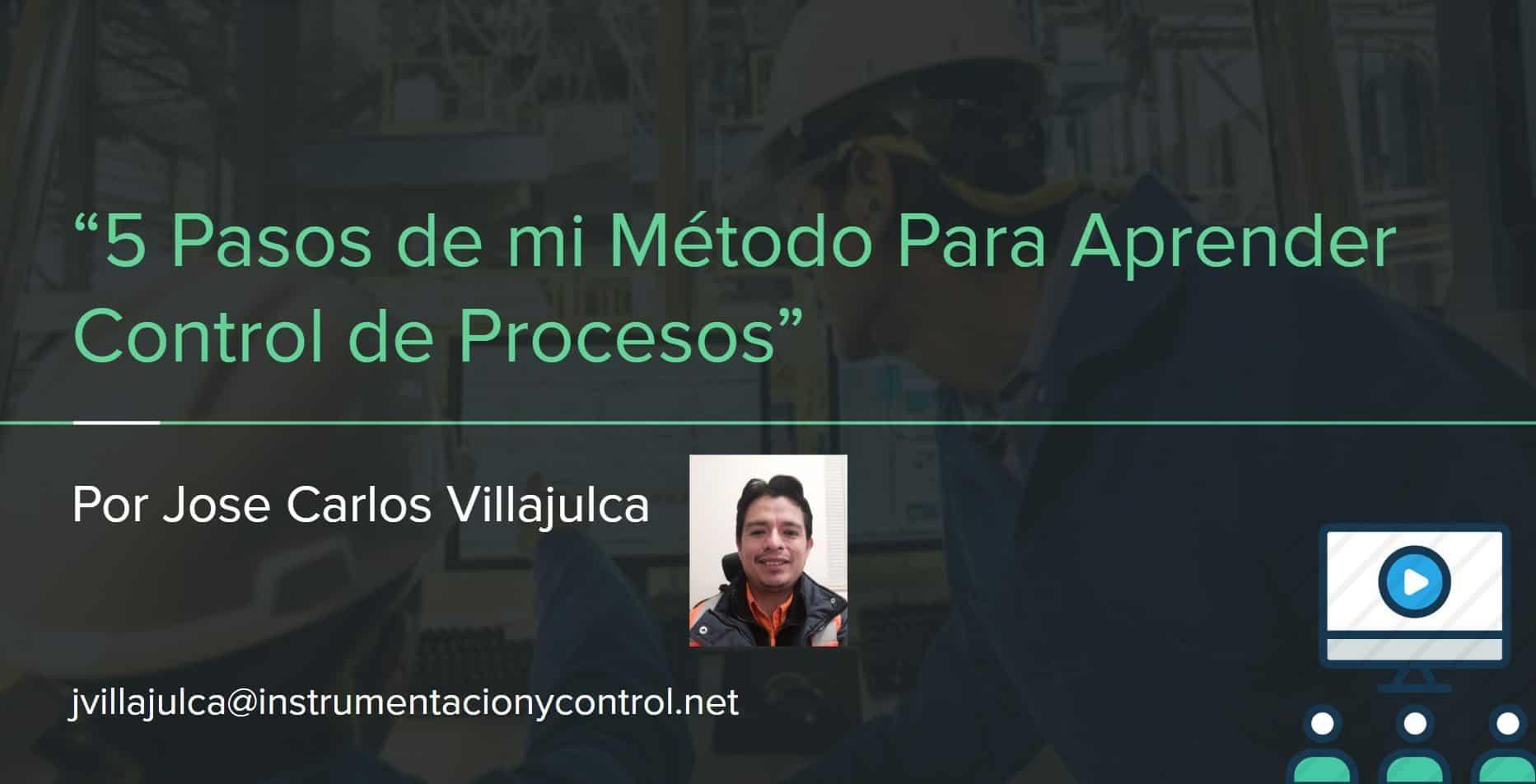 5 pasos metodo control procesos